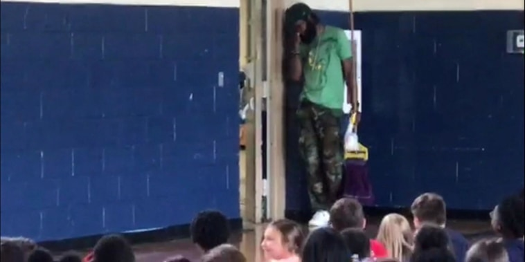 School janitor gets wonderful surprise for National Custodian's Day