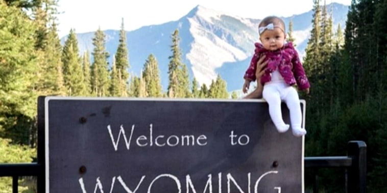 Baby about to be youngest to visit all 50 US states