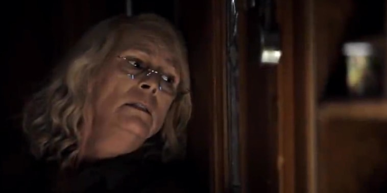 Jamie Lee Curtis celebrates record-breaking 'Halloween' debut
