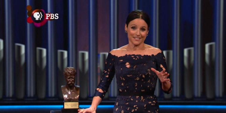 Julia Louis-Dreyfus honored with Mark Twain Prize for humor