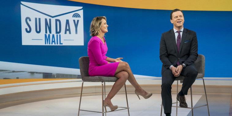 Willie Geist unveils new Sunday TODAY segment: Sunday Mail