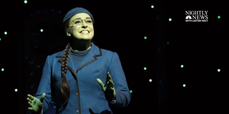 Extended interview: 'Wicked' star on going from finance to Broadway  (Part 2)