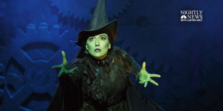 Extended interview: 'Wicked' star on going from finance to Broadway  (Part 1)