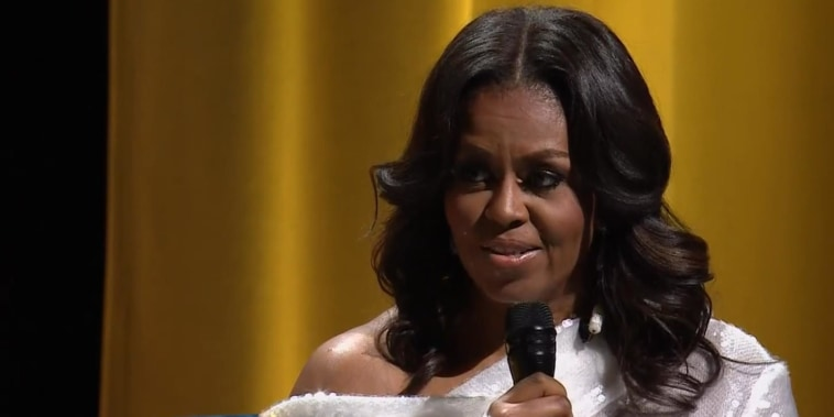 Former first lady Michelle Obama describes life in the White House