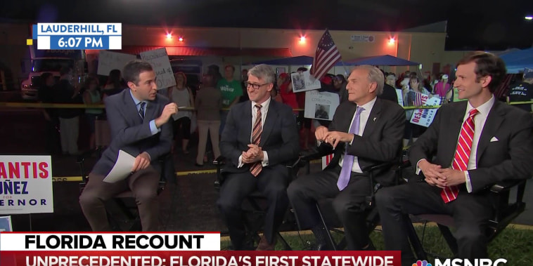Unprecedented: Florida recounts midterm Senate, Governor races