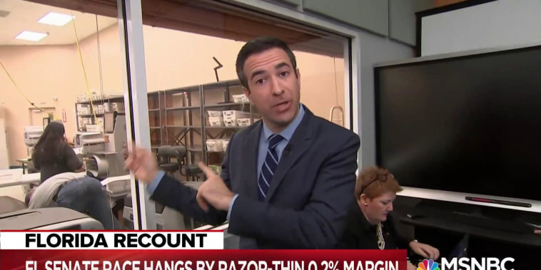 Ari Melber: How the Florida recount process actually works