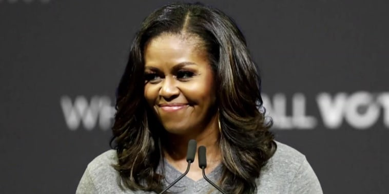 Michelle Obama on Trump's presidency: Where is the bottom?
