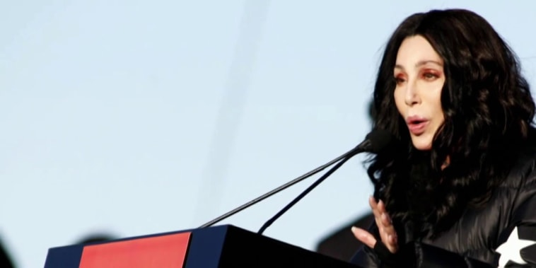 Cher on Trump: I don't understand how we're America anymore