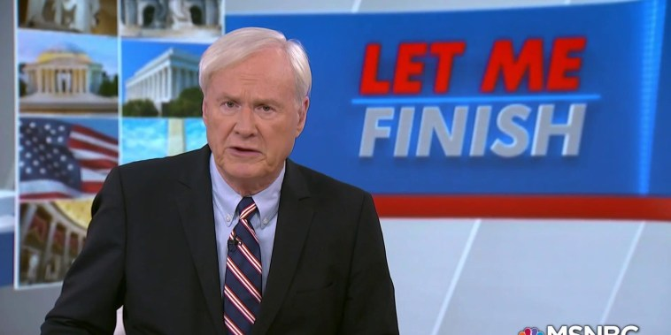 Matthews on Midterms: Americans will make a statement against Trump