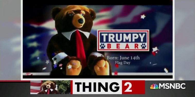 The truth about Trumpy Bear