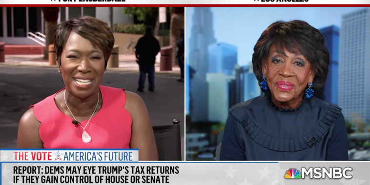 Maxine Waters: American people in final analysis will understand how divisive president is