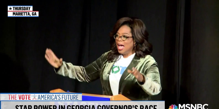 Oprah, Common, Will Ferrell, more lend star power to Stacey Abrams campaign