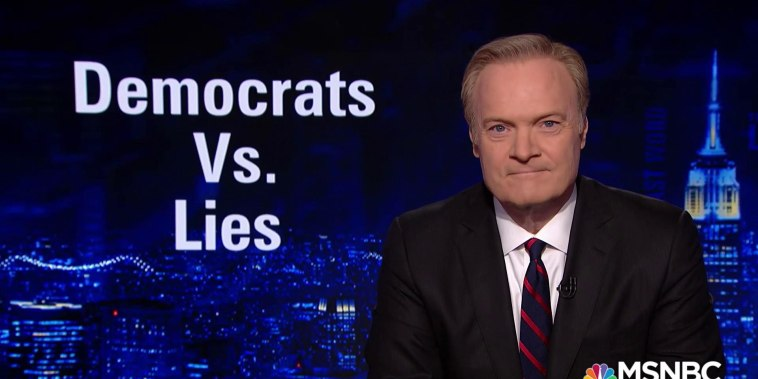 Lawrence: How Democrats are fighting against a president who won't tell the truth