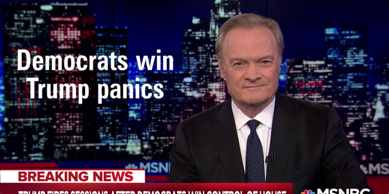 Lawrence: Democrats win, Trump panics