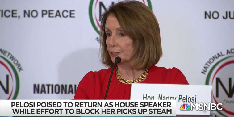 Despite House victory for Democrats, Pelosi challenged as leader