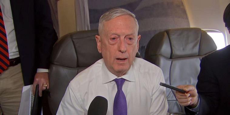Mattis: I don't anticipate military making contact with migrants
