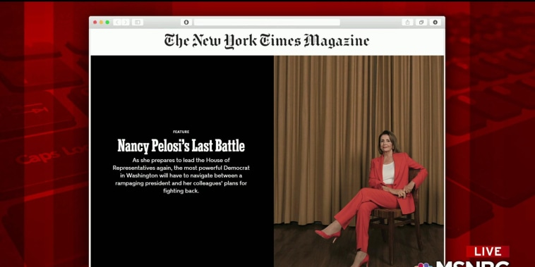 Inside 'Nancy Pelosi's Last Battle'