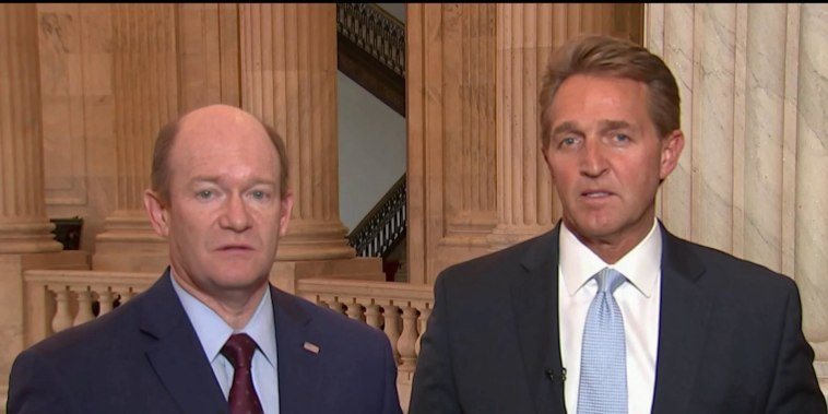 Troops deployed to border is a 'stunt', says Sen. Flake