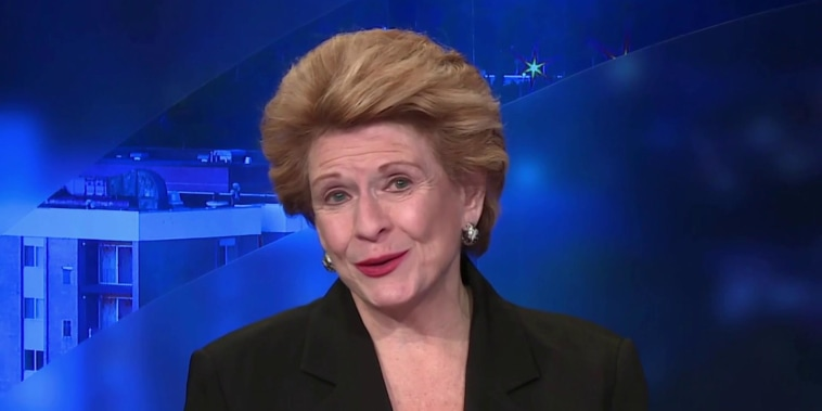 Mich. women didn't win due to 'novelty': Stabenow