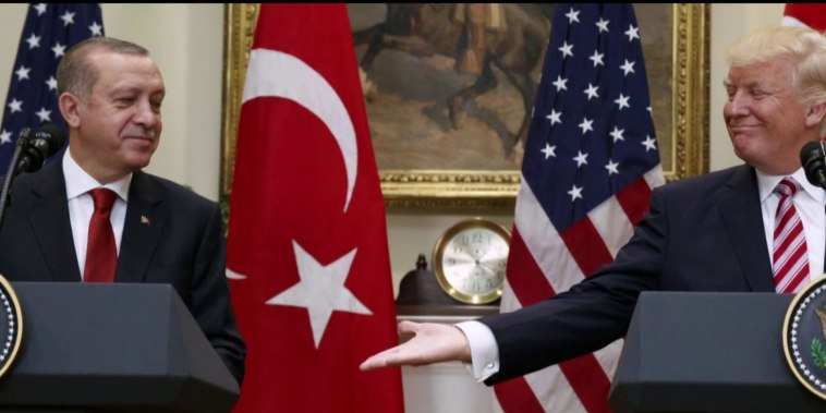 White House considers expelling Erdogan foe from US