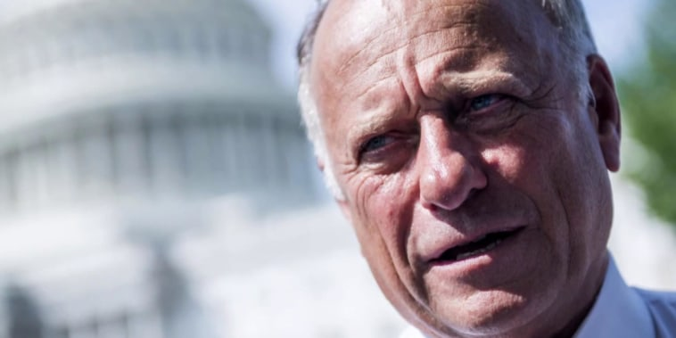 Steve King denounced by his own party, rebukes comparisons to synagogue shooter