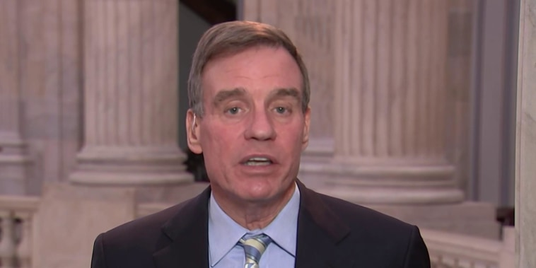 Warner hopes GOP colleagues 'stick to their guns' on supporting Mueller