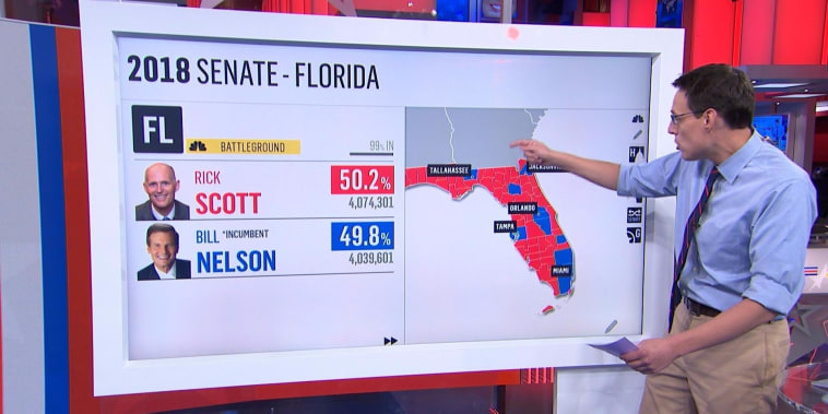 Nelson's chief of staff says Florida Senate race headed to recount