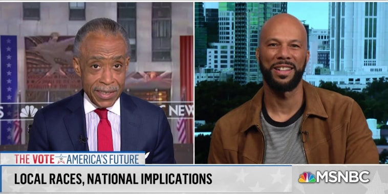 Common on why he's campaigning in Florida and Georgia