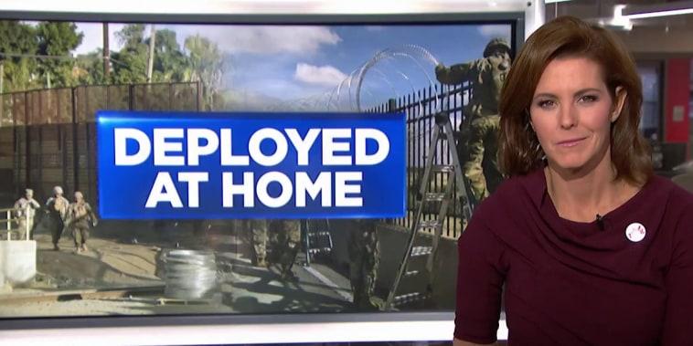 Mattis anticipates more troops at Southern border through holidays