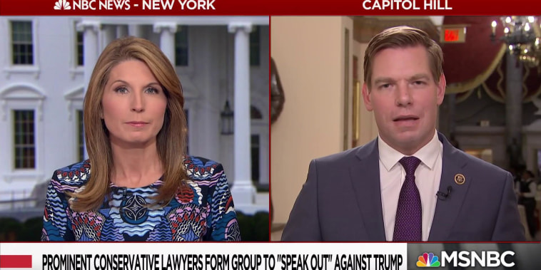 "Rep. Swalwell: ""A new day is coming to Congress, presidential immunity is over"""