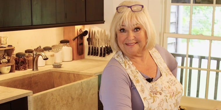 Crazy Kitchens: Tour Food Network star Nancy Fuller's adorably chic 17th century kitchen