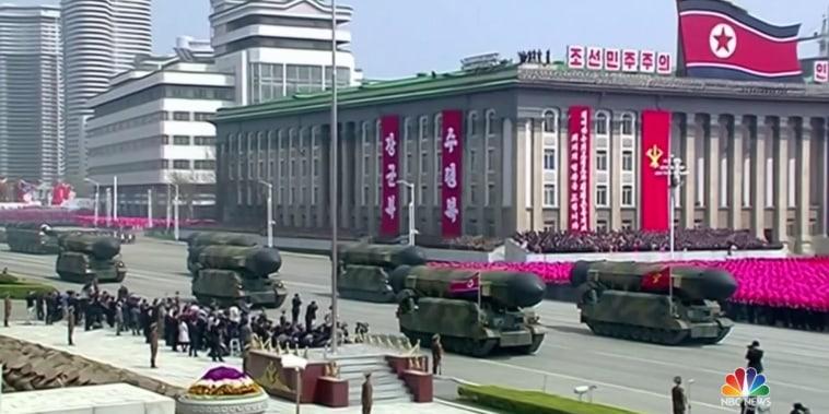 North Korea still building ballistic missiles, say U.S. officials
