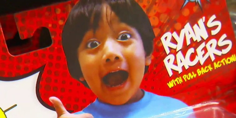 Exclusive interview with kid millionaire behind Ryan's World toy empire