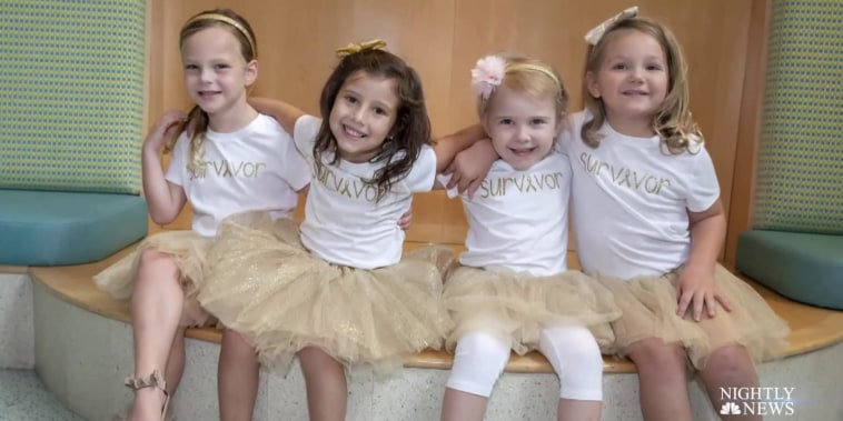 Four girls fight through cancer with friendship