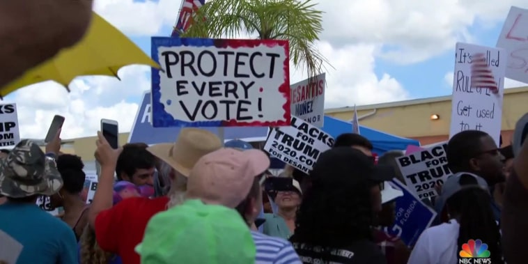 Florida orders first statewide recount in history after razor-thin margins in first pass
