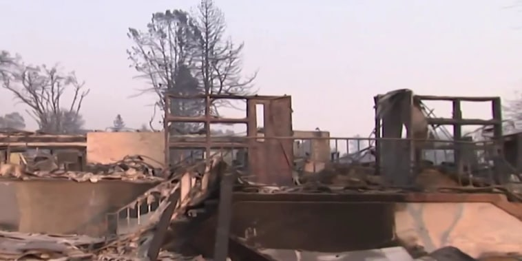 Paradise, California, in ruins as Camp Fire continues to rage