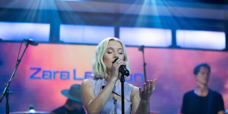 Zara Larsson sings 'Ruin My Life' on TODAY