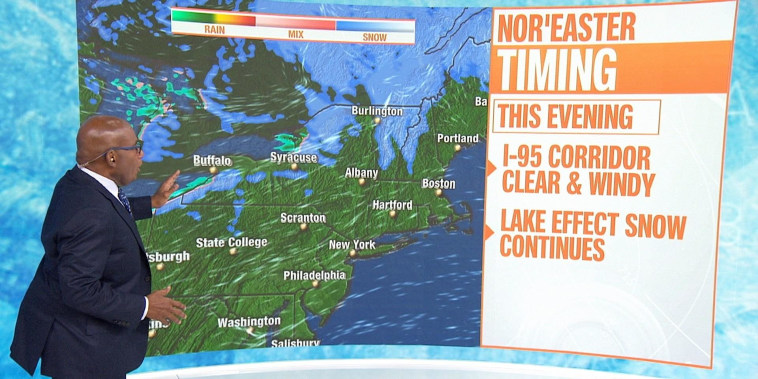 Tracking East Coast snow storm: See where it's headed