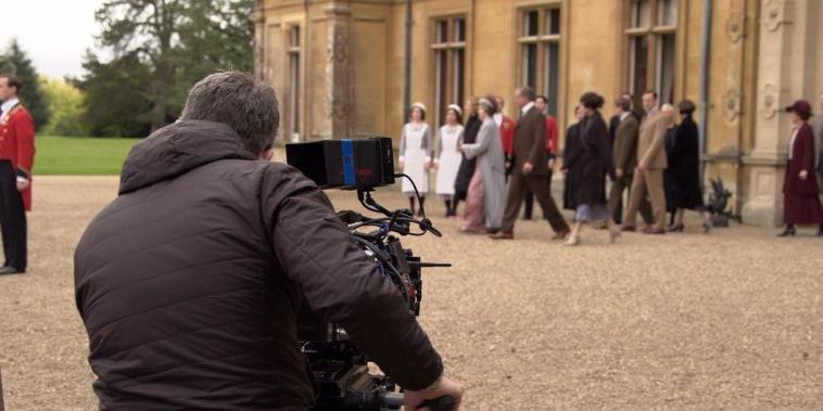 'Downton Abbey' movie: TODAY gets an exclusive sneak peek