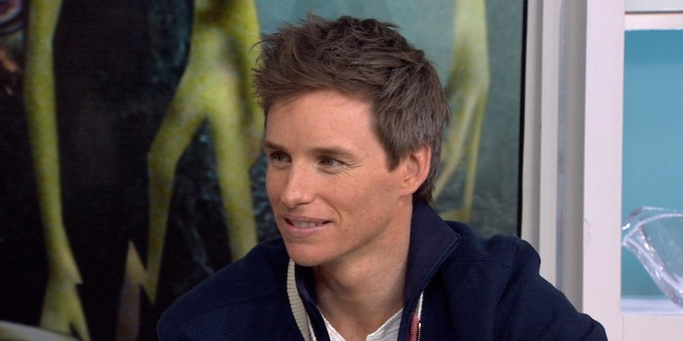 'Fantastic Beasts' star Eddie Redmayne on the trick to using a wand