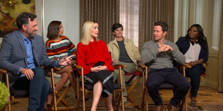 Mark Wahlberg, Rose Byrne and 'Instant Family' cast talk new film