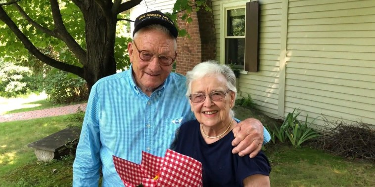 Watch a World War II veteran reunite with his pen pal from 70 years ago