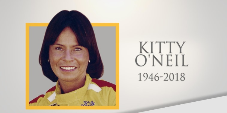 'Wonder Woman' stunt double Kitty O'Neil dies at 72