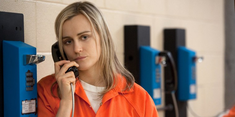 "Image: Taylor Schilling as Piper Chapman in ""Orange Is the New Black"""