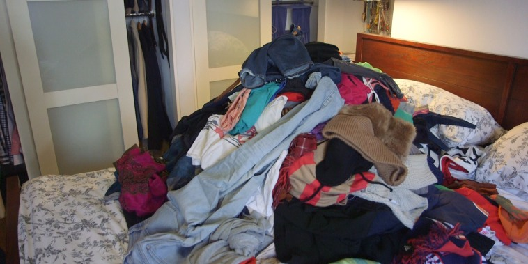 Image: Pile of clothing