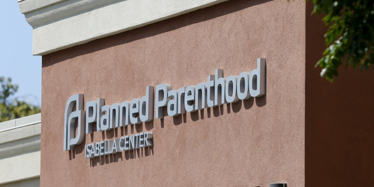 Image: A Planned Parenthood clinic is seen in Vista, California