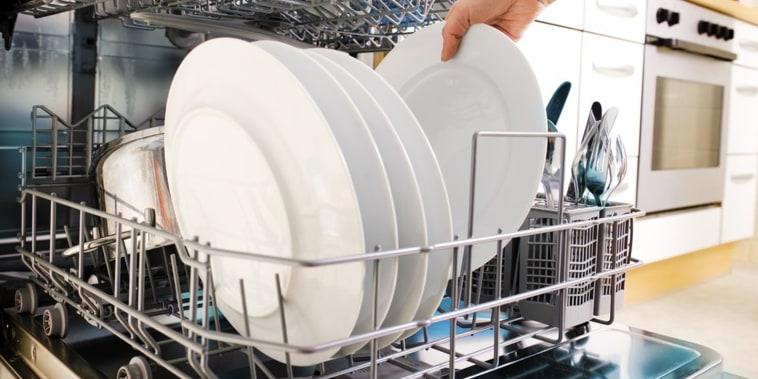 Load dishwasher