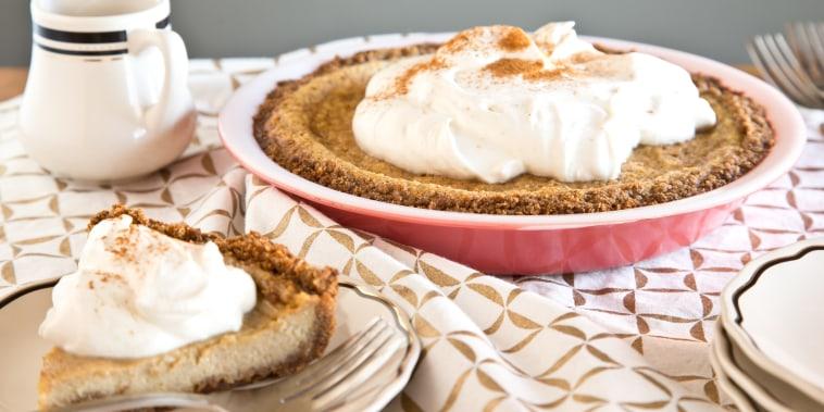 Maple cream pie is a great holiday alternative to pumpkin pie