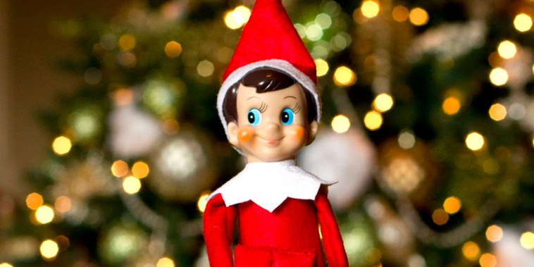 The elf on the shelf sees all