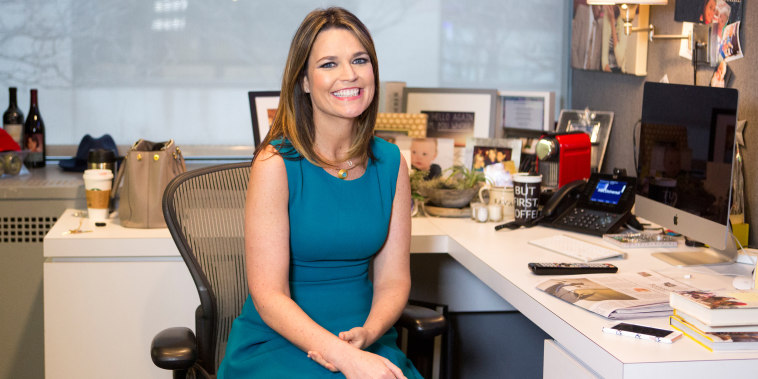 Inside Savannah Guthrie's Studio 1A dressing room